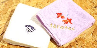 デジタル刺繍ミシン作例