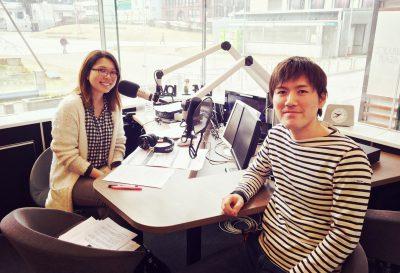 LOVE FMでラジオ出演させていただきました!