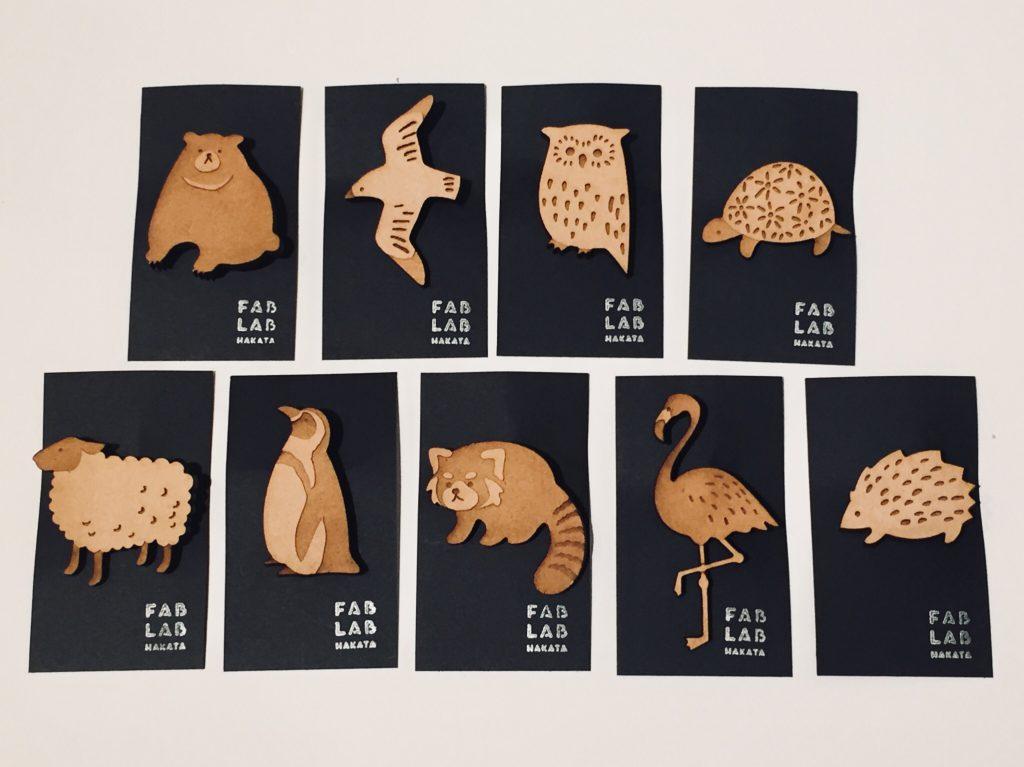 ファブラボ博多のオリジナル雑貨、福岡市動物園に出店しました!