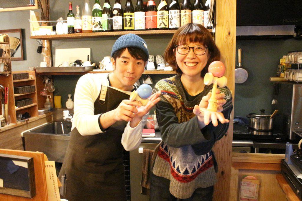 B&C Gakubuchi のロゴ入りけん玉を制作しました!