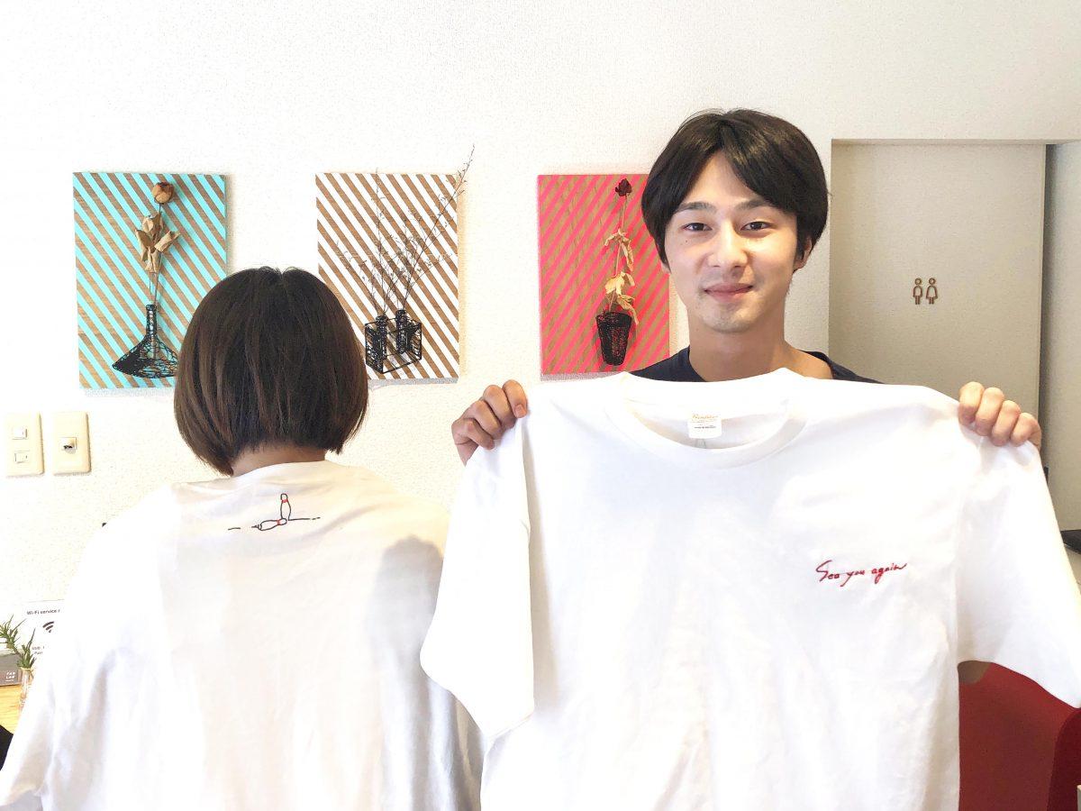 デジタル刺繍ミシンで、映画のロゴ入りTシャツづくり!