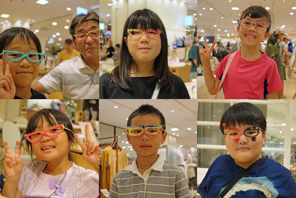 「自分だけの変装メガネを作るワークショップ」の部品を制作させていただきました!