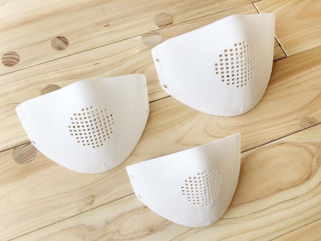 3Dプリンターでマスクを作らせていただきました!