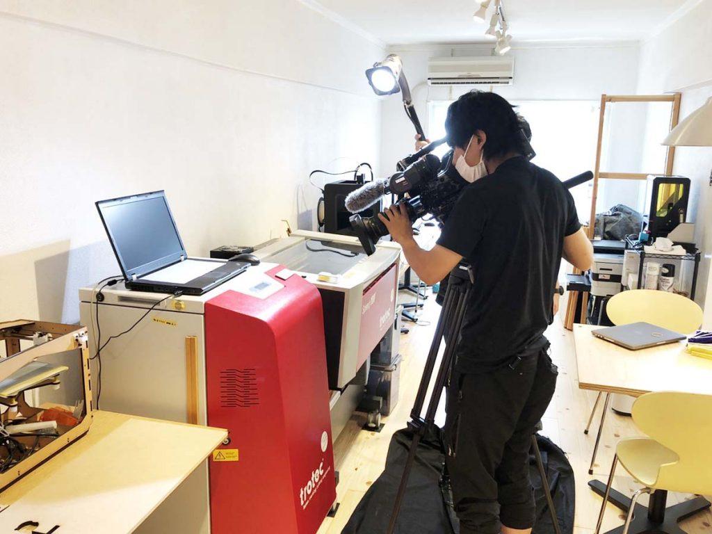 ローカルTV番組「ももち浜ストア」に取材していただきました!